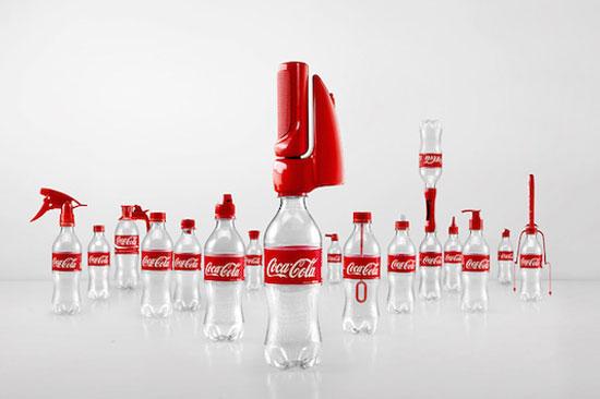 变废为宝的可口可乐瓶盖