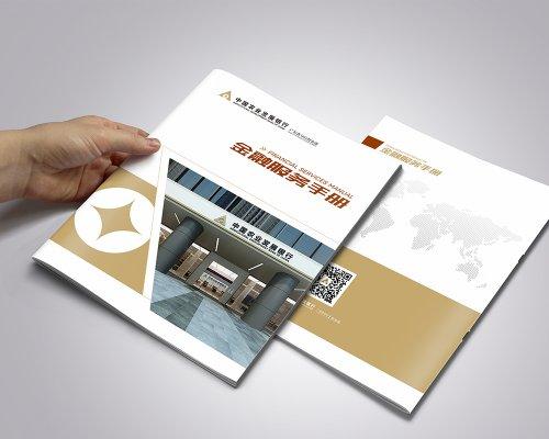农发行广东省分行《金融服务手册》设计